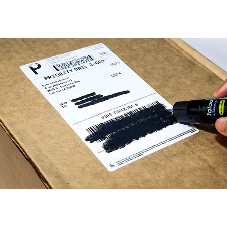 Crover Info-Protector Black Glue Stick 15g/0.53oz Essential to Secure All Personal, Business and Sensitive Information - Personal Paper