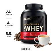 Optimum Nutrition Gold Standard 100% Whey Protein Powder, Coffee, 24g Protein, 5 Lb
