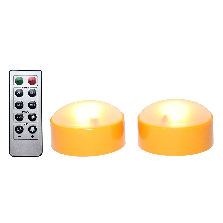 amazingwoo led pumpkin lights with remote and timer, jack-o-lantern