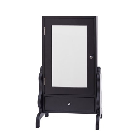 Tabletop Mirror with Jewelry Storage in - Tabletop Jewelry Box