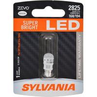 SYLVANIA 2825 WHITE ZEVO LED Mini, Pack of 1
