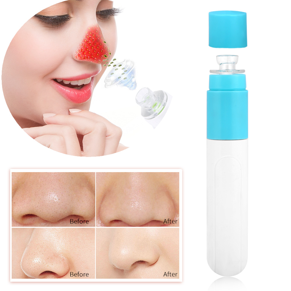 Anauto Skin Care Cleaner, Electric Facial Cleaner,Electric Pore Cleaner Facial Skin Cleansing Acne Removing Blackhead Absorbing Device