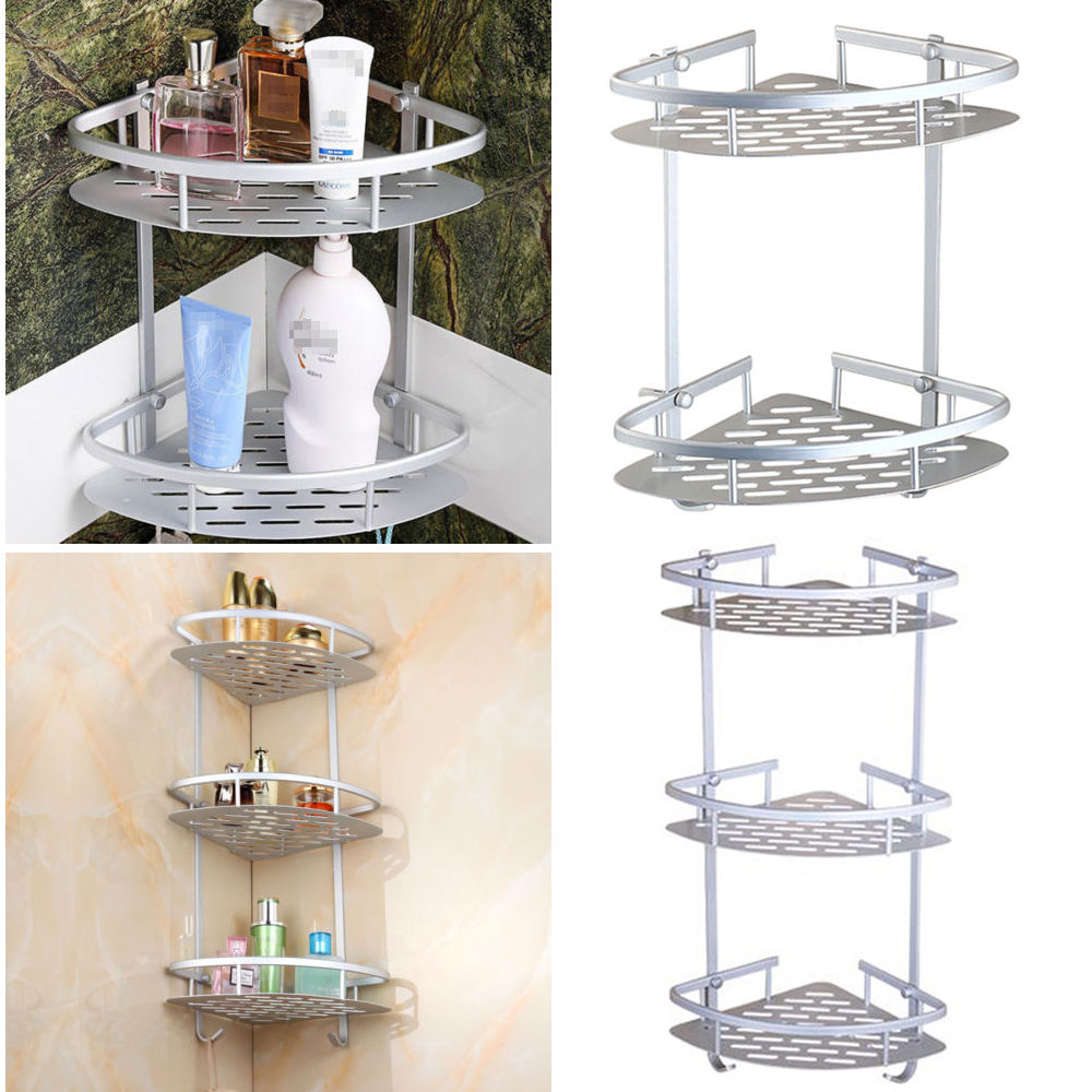 Wall Mounted Corner Shower Caddy. Ucore Wall Mount Double Corner ...