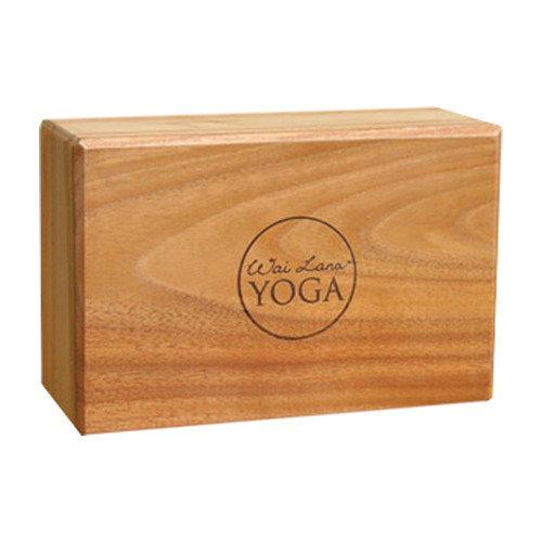 Wai Lana 4'' Teak Yoga Block