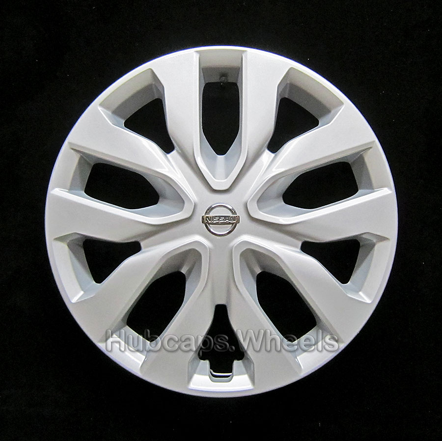 17 inch SW Silver Spyder Look Design Car Wheel Trims Hub Cap Covers Set