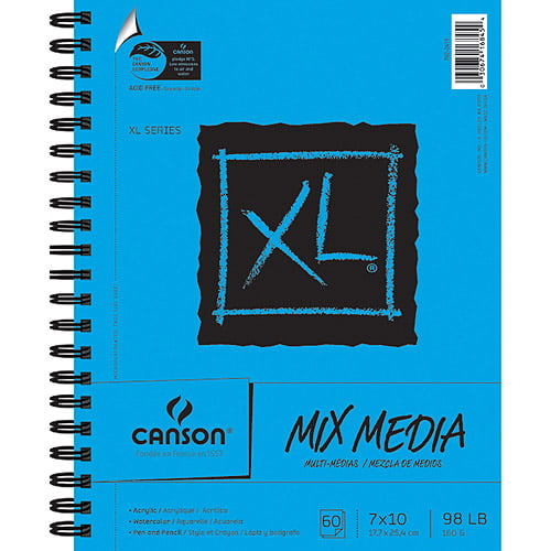 Pro-Art Acid-Free Canson Extra Long Watercolor Paper Pad 30-Sheet