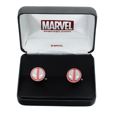 Enamel Plated Cufflinks (Logo Stainless Steel Enamel)