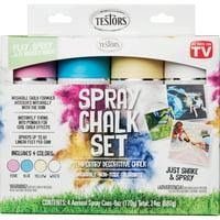 Testors Spray Chalk Set, 1 Kit (Quantity)