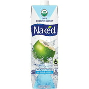 Naked Juice Coconut Water, 33.8 Fl Oz, 6 Count