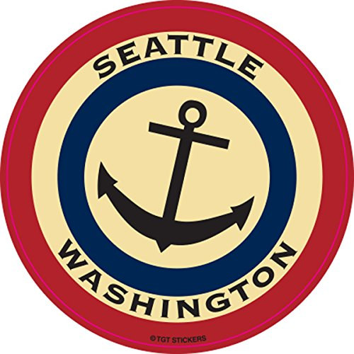 Seattle Anchor Sticker by TGT (2-Pack)