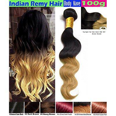eCowboy BODY WAVE Indian Human Hair 6A Bundle Hair Weave Extensions GREAT  DEAL 100 Human Hair e47abbb85