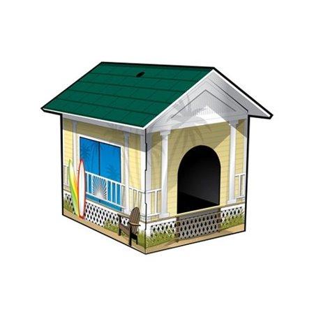 Chateau Looey Malibu Beach House Litter Box Cover