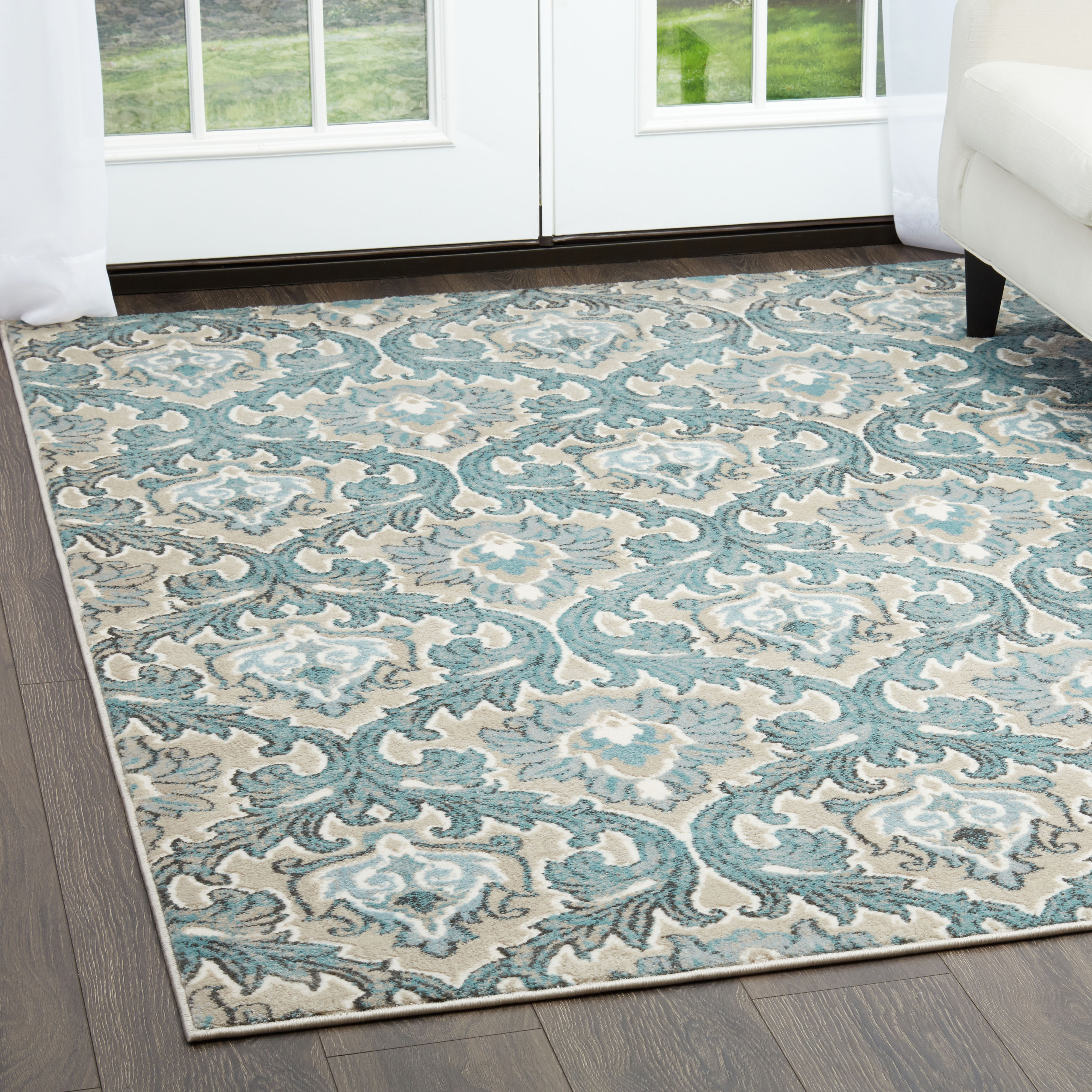Home Dynamix Oxford Collection Transitional Area Rug For Modern