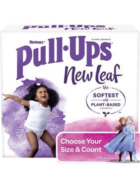 Pull-Ups Girls' New Leaf Training Pants (Choose Size & Count)