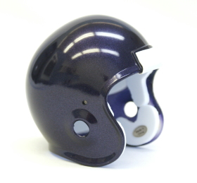 Micro Football Helmet Shell - Purple Metallic
