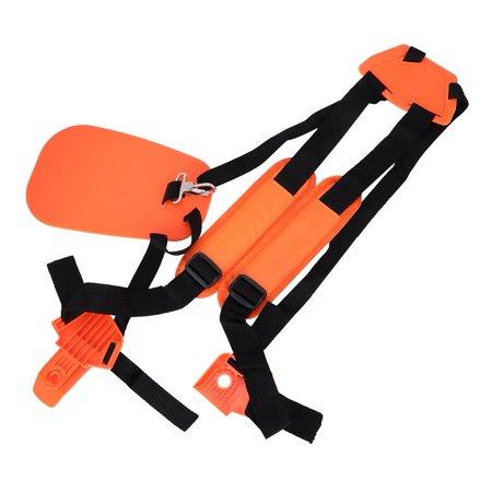 Ccdes Trimmer Shoulder Strap Double Shoulder Harness Brush Cutter Lawn Mower Nylon Belt for Garden , Double Shoulder Harness, Strimmer Harness - image 1 of 8