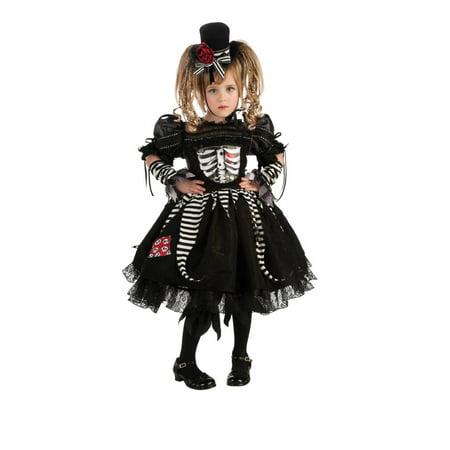 Child Skeleton Bone Costume Rubies 881209