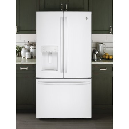 GE  Appliances Energy Star 27.8 Cubic Foot French Door Refrirator Cubic Foot French Door