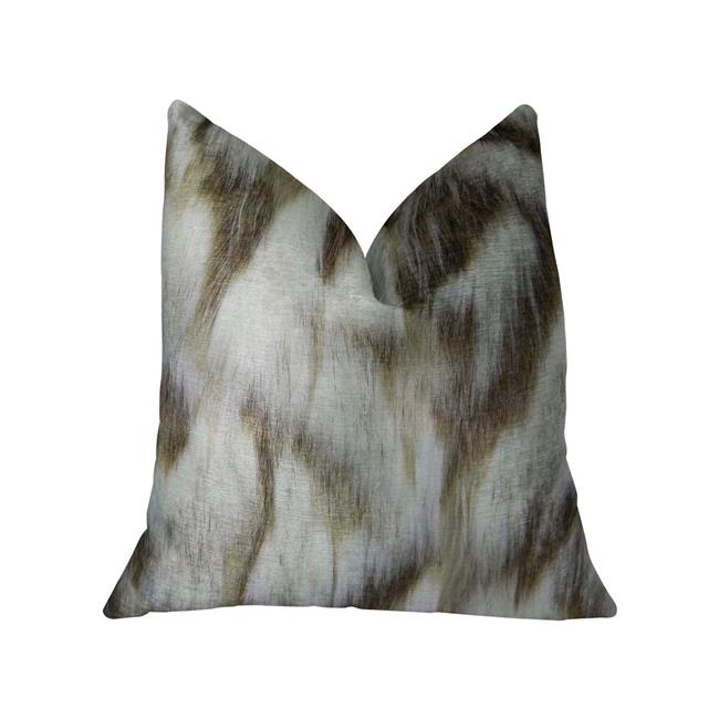 Plutus PBRAZ455-2026-DP Sassy Tibet Fox Ivory Beige Handmade Luxury Pillow, 20 x 26 in. Standard - image 3 of 3