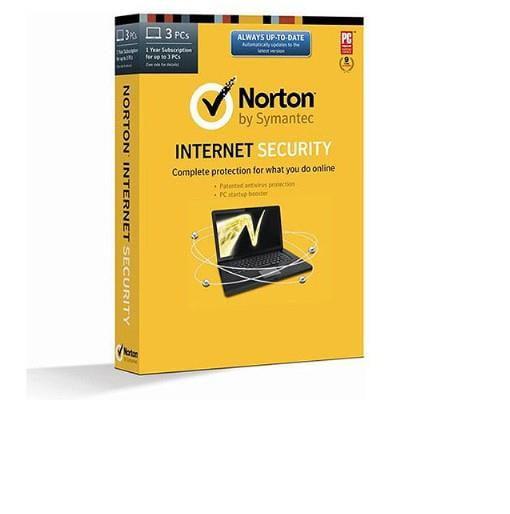Refurbished Symantec Norton Internet Security (1 User/3 PCs)