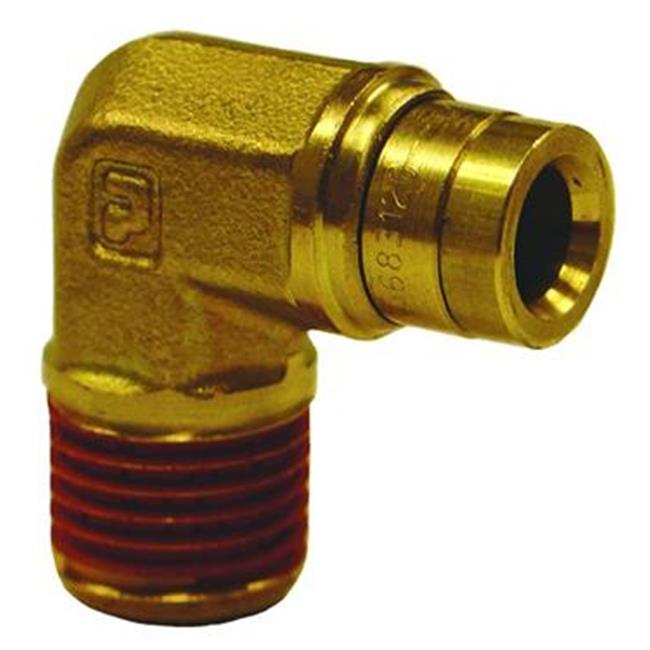 FIRESTONE 3031 Adapter Fitting, Male 90 Degree Elbow