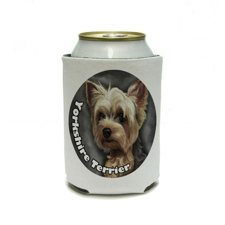 Yorkshire Terrier - Yorkie Dog Pet Can Cooler Drink Insulator Beverage Insulated Holder (Terrier Cooler)