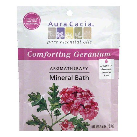 Aura Heart - Aura Cacia Mineral Bath Heart Song, 2.5 OZ (Pack of 6)