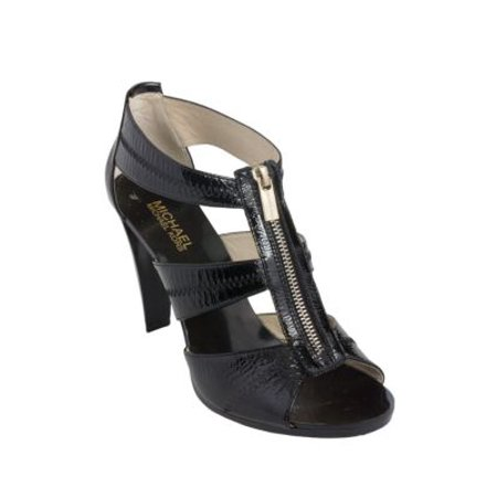 Berkley Patent Leather T-Strap Sandals Patent Leather T-strap Sandals
