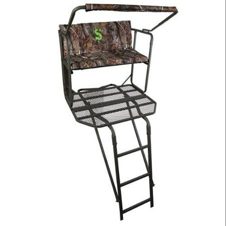 Summit Treestands Dual Pro Ecs 2 Man Ladder Stand