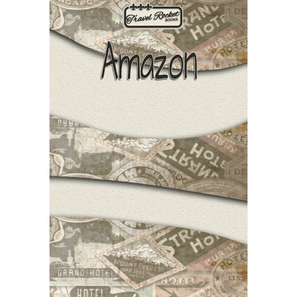 TRAVEL ROCKET Books Amazon : Travel Journal or Travel ...