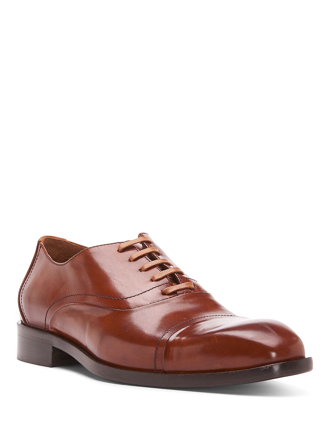 Cap Toe Leather Oxfords