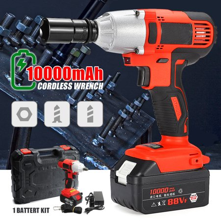 21V 280N.M Adjustable Electric Cordless Impact Wrench Power Tool +