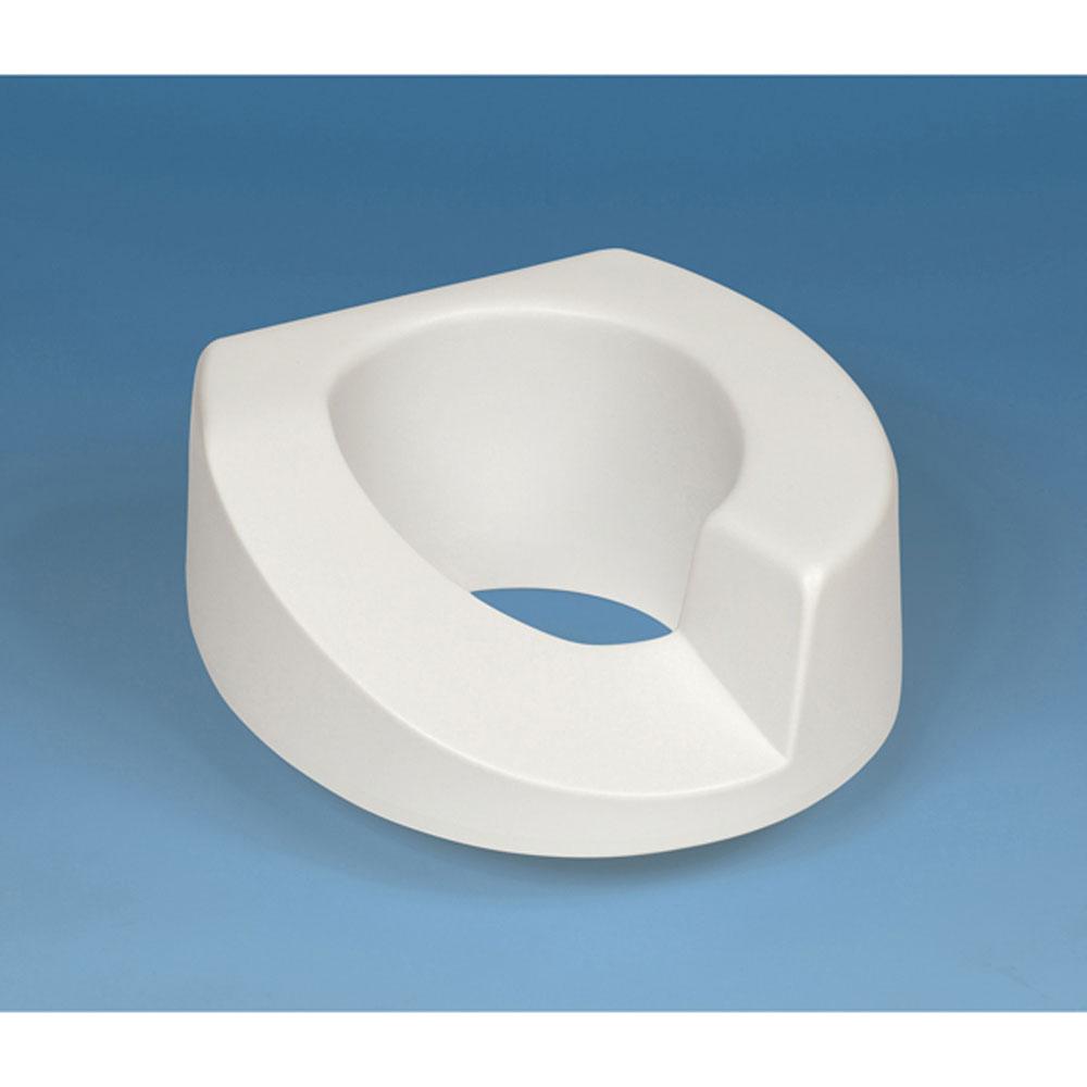 Standard ARTHRO toilet seat with bolt-down bracket, right