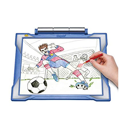 Crayola Light-up Tracing Pad Blue, Coloring Board for Kids ...
