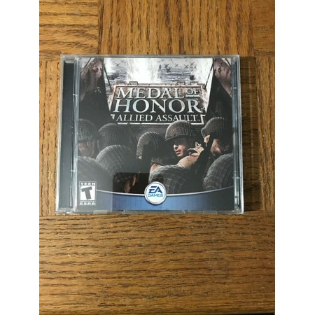 Medal Of Honor Allied Assault PC Game (Code For Medal Of Honor Allied Assault)