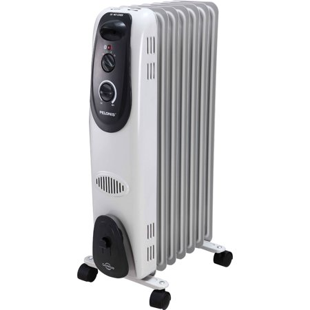 Pelonis Electric Radiator Space Heater 7 Fin Oil Filled Ho 0260