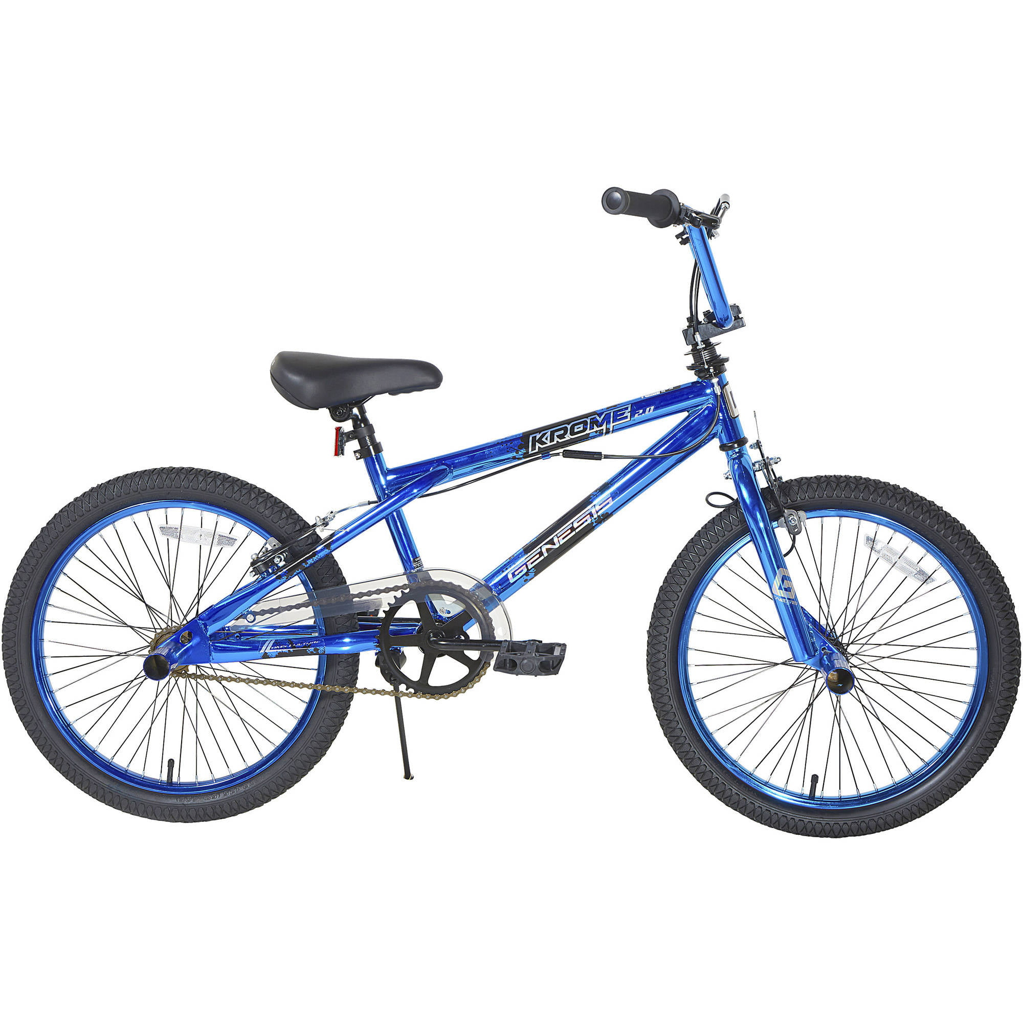 "20"" Genesis Boys' Krome 2.0 Bike, Blue by Dynacraft BSC"