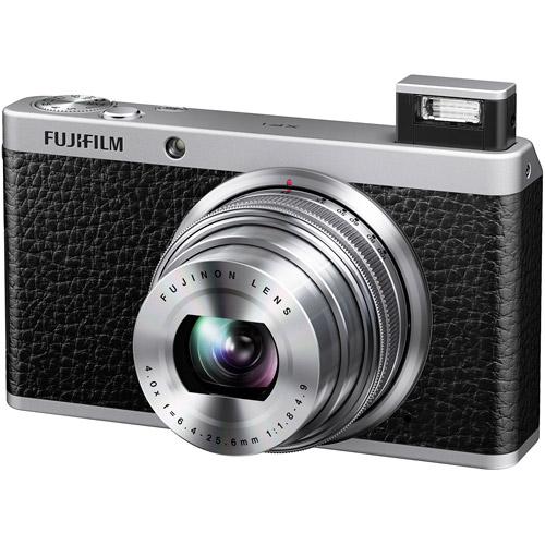 "Fujifilm FinePix XF1 12 Megapixel Compact Camera - Black - 3"" LCD - 16:9 - 4x Optical Zoom - 2x - Optical (IS) - 4000 x 3000 Image - 1920 x 1080 Video - HDMI - PictBridge - HD Movie Mode"