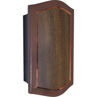 IQ America Designer Series Mahogany Laminate Wired/Wireless Door Chime PC-7210