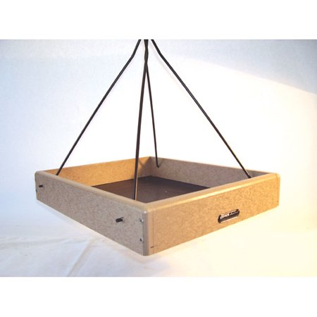 Birds Choice Recycled Hanging Tray Bird Feeder Birds Choice Recycled Hanging