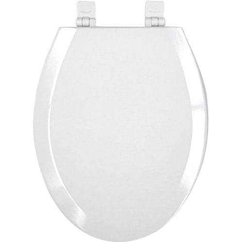 Mainstays Elongated Plastic Toilet Seat by GISNEY HOME SOLOUTIONS
