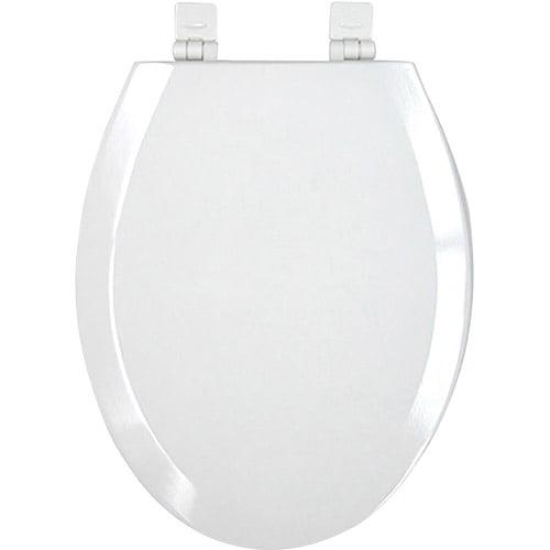 Mainstays Toilet Plastic Elongated Seat