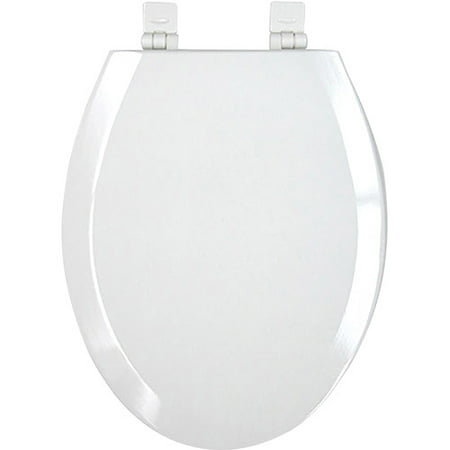 Mainstays Elongated Plastic Toilet Seat