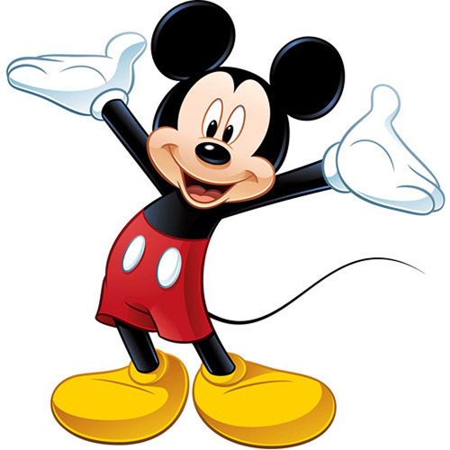 Disney - Peel & Stick Giant Wall Decal, Mickey Mouse
