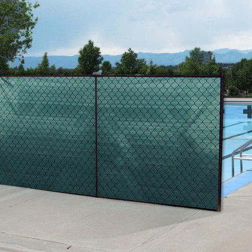 Boen Privacy Fence Netting Green 6' x 100', w/ Reinforced Grommets
