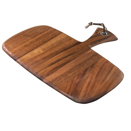 Small Rectangular Paddle Board, Acacia Wood