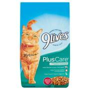 9Lives Plus Care Dry Cat Food, 3.15-Pound