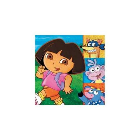 Dora & Friends Lunch Napkins, 16 ct