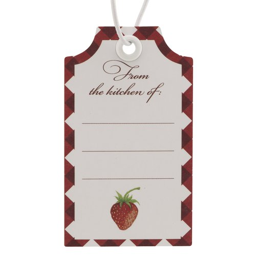 Better Homes and Gardens Strawberry Gift Tags, 12-Pack