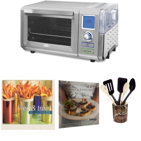 Cuisinart CSO-300 Combo Steam and Convection Toaster Oven Bundle (Certified